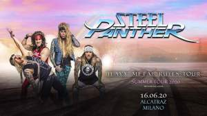 Steel Panther una data in Italia nel 2020