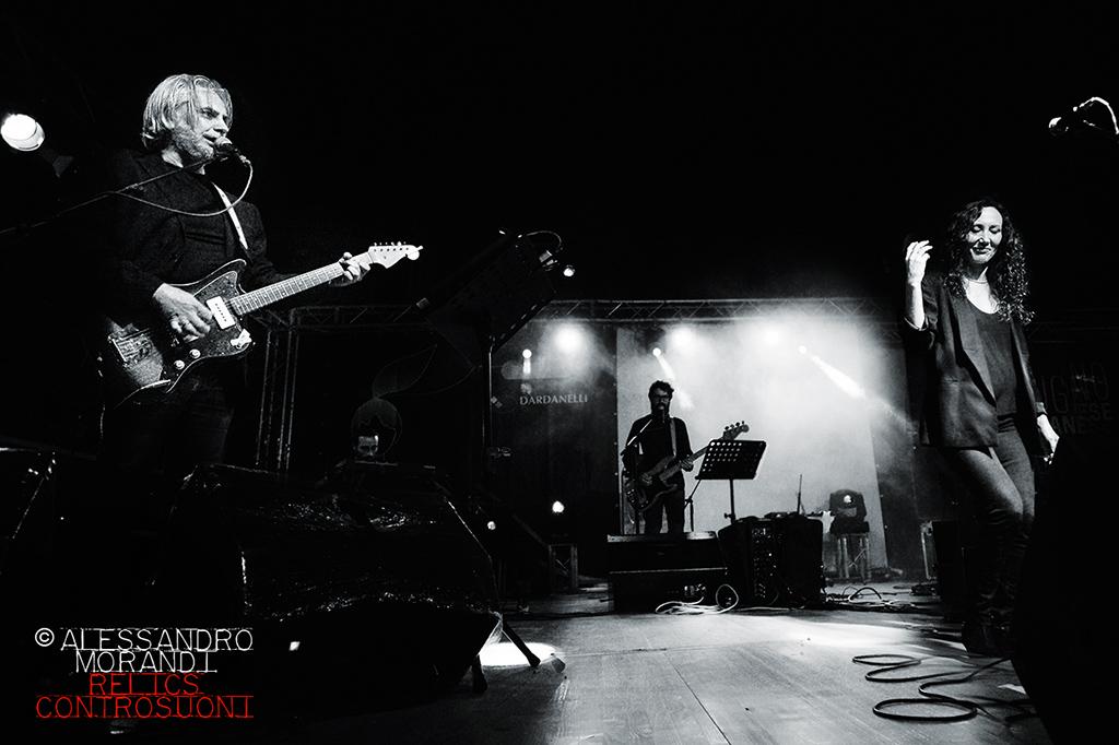"""Marina Rei e Paolo Benvegnù """"CANZONI CONTRO LA DISATTENZIONE TOUR"""" @Parco Sandro Pertini Agliana (foto di Alessandro Morandi)"""