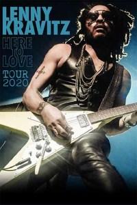 Lenny Kravitz: 3 nuove date in Italia nel 2020