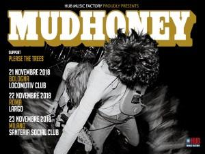 MUDHONEY: tre date in Italia a novembre