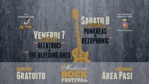 Medicina Rock Festival 2019 - sul palco Atroci, Punkreas e Rezophonic