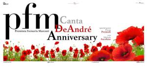 PFM canta De André Anniversary live @ Tuscanyhall Firenze