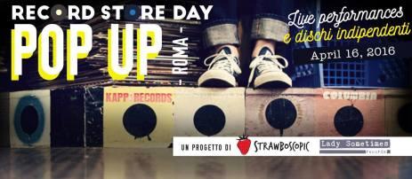 _ RecordStoreDay PopUp Roma