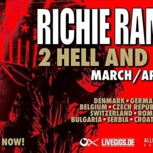 Richie Ramone: 4 date in Italia a Marzo
