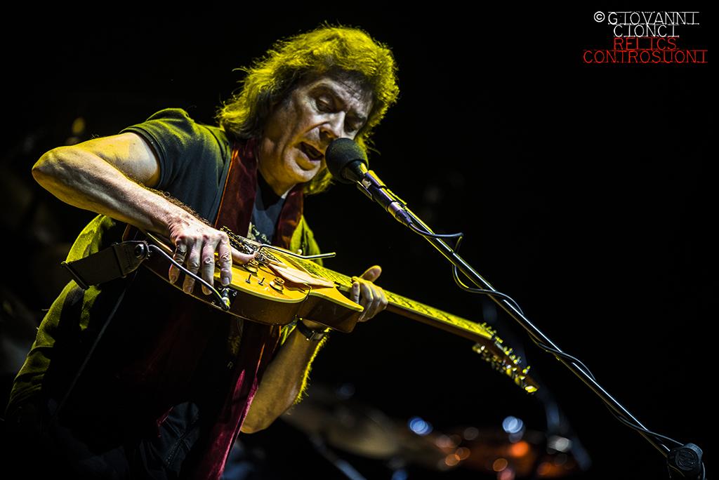 Steve Hackett @ Pistoia Blues (foto di Giovanni Cionci)