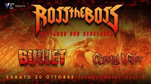 Ross the Boss live Campus Industry Music (Parma) il prossimo 20 Ottobre
