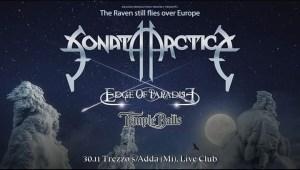 Sonata Arctica - Live@ Live Music Club - Trezzo sull'Adda (MI) il 30 Novembre