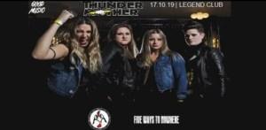 Thundermother - Live al Legend Club (Milano) il prossimo 17 Ottobre