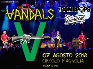 THE VANDALS: due ospiti d'eccezione per l'unica data italiana!
