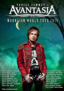 AVANTASIA: MOONGLOW WORLD TOUR 2019, UNA DATA IN ITALIA!