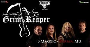 Grim Reaper al Mu di Parma il 3 Maggio 2019