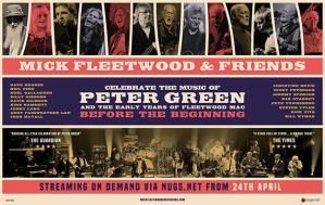 MICK FLEETWOOD & FRIENDS: l'incredibile evento All Star in streaming on demand dal 24 aprile