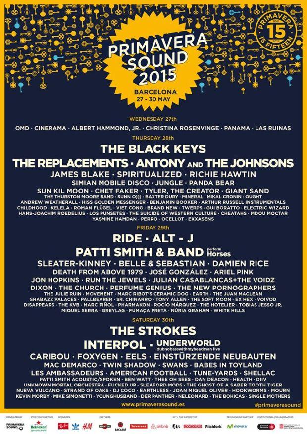 primavera-2015-lineup