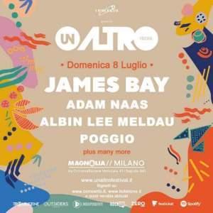 ADAM NAAS, ALBIN LEE MELDAU, POGGIO al UNALTRO Festival a Milano