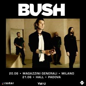 BUSH: nuovo album e due attese date in Italia a giugno!