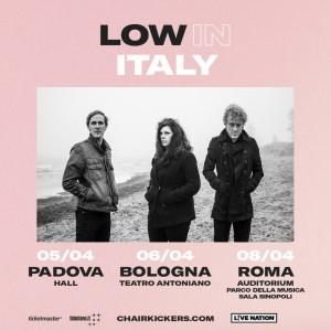LOW: i poeti del rock americano in concerto in Italia con tre show esclusivi
