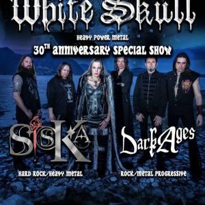 White Skull 30th Anniversary Special Show al Pika Future Club venerdì 15 Marzo