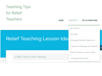 relief teaching article bank