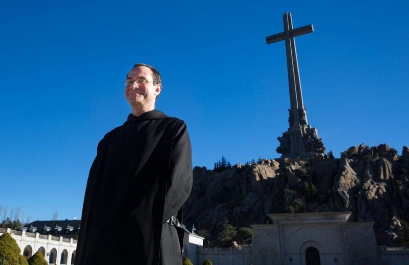 Santiago Cantera, prior del Valle de los Caídos