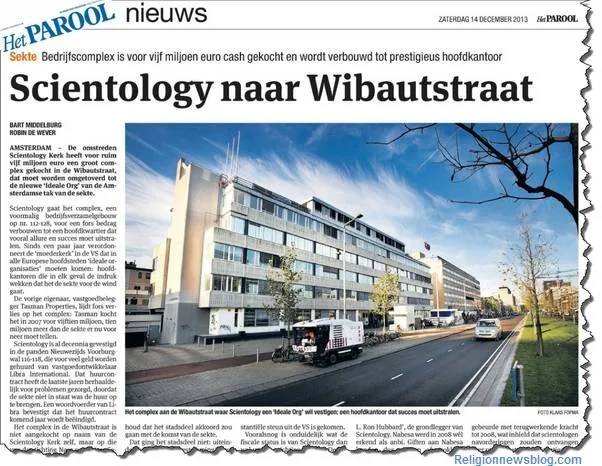 Scientology Amsterdam Ideal Org