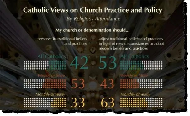 Catholic views on church practice and policy