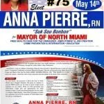 North Miami mayoral candidate Anna Pierre claims to be endorsed by Jesus Christ