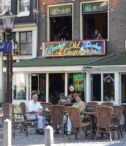 Coffeeshop Old Church in Amsterdam