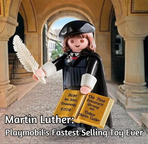 Playmobil's Martin Luther