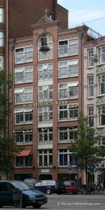 Office building currently rented by Scientology Amsterdam