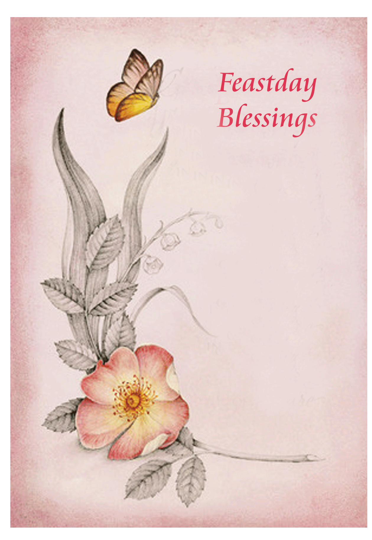 Feastday Religious Cards FD32 Pack Of 25 4 Designs