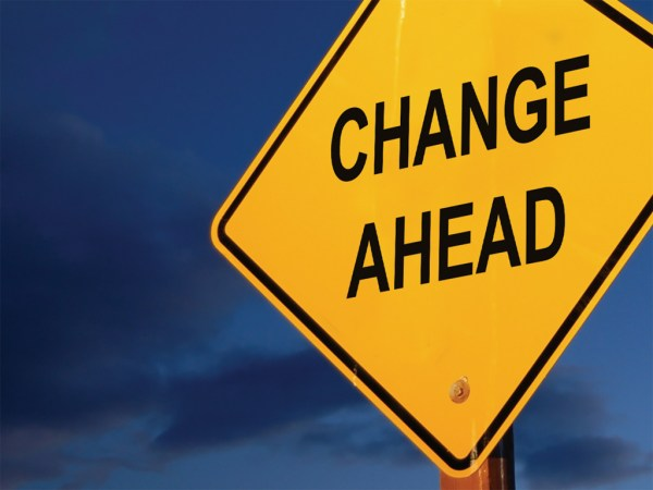 iStockPhoto - change ahead
