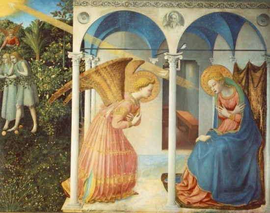 Fra Angelico, The Annunciation, ca. 1440