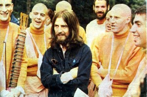 George Harrison with ISKCON
