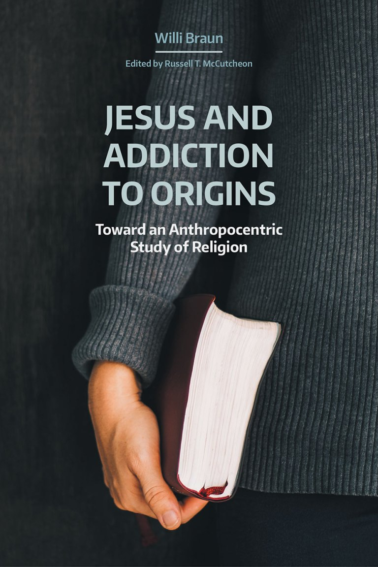The Cover art for Willi Braun's new book _Jesus and Addiction to Origins_