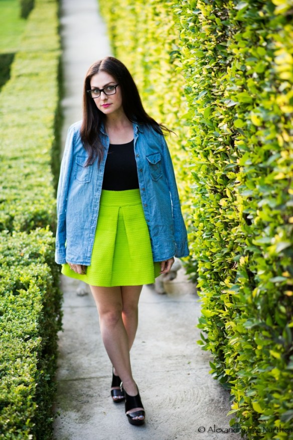 relish green skirt 8