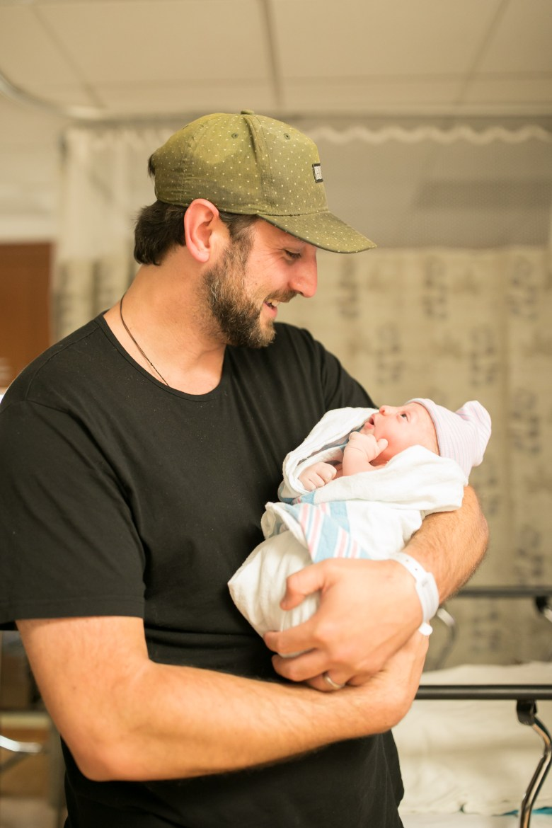 RELish By Arielle's husband Phil Galanty talks about the struggles of first-time fatherhood
