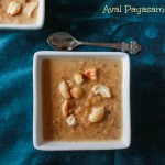 Aval payasam with Jaggery