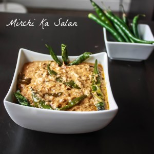 Mirchi Ka Salan / Green Chilli Curry