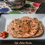 Mint & Tofu Whole Wheat Paratha