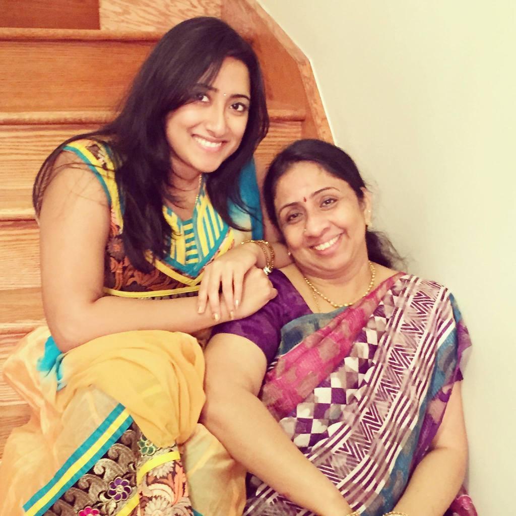 suganya&Mom