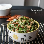 Beans Masala Stir Fry