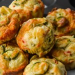 Jalapeno Herbs Savory Cheese Muffins + Giveaway (baking pan)