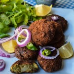Lamb Shami Kabab + $100 US worth Gourmet Garden herbs collection Giveaway (Open to U.S & Canada)