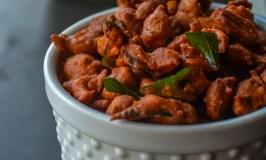 Masala Peanuts/ Masala Kadalai/ Fried spicy peanuts