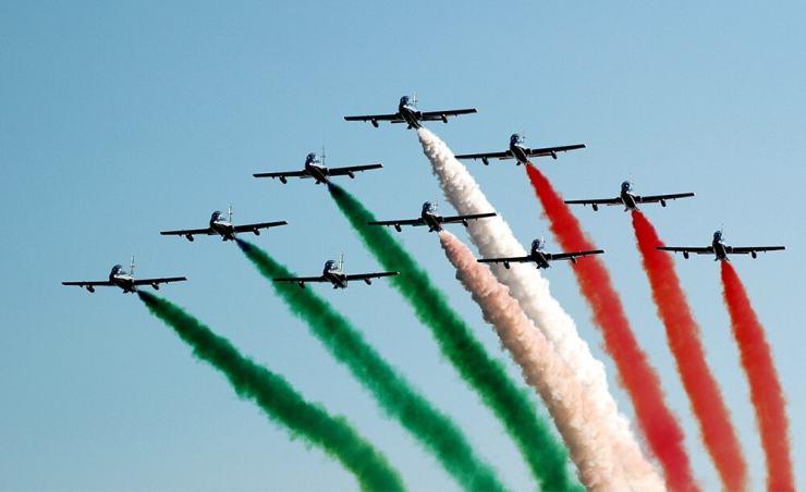 על תחושת השייכות החזקה של האיטלקים