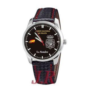 Reloj Policía Nacional 1-relojes personalizados jr