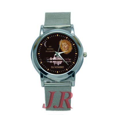 Reloj Virgen del Rocío Mujer E5-relojes-personalizados
