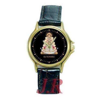 Reloj Virgen del Rocío Mujer E9-relojes-personalizados