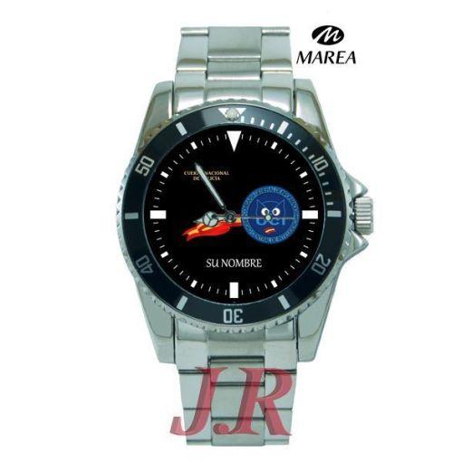 Reloj Policía Nacional UCI-relojes personalizados jr