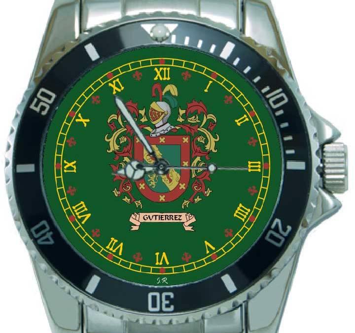 Reloj personalizado con escudo